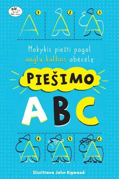 Piešimo ABC. Imogen Williams